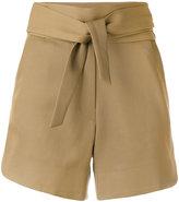 IRO tie-waist shorts - women - Cotton/Viscose - 38