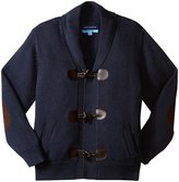 Andy & Evan Toggle Cardigan (Toddler/Kid) - Navy - 4T