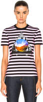 Givenchy Striped Graphic Tee