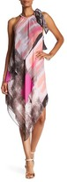 Rachel Roy Brush Square Printed Scarf Dress