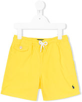Polo Ralph Lauren drawstring swim shorts - kids - Polyester - 3 yrs