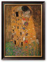 """Art.com The Kiss, c.1907"""" Framed Art Print by Gustav Klimt"""