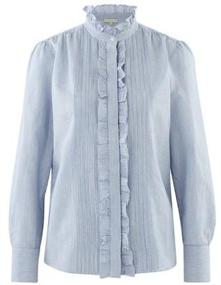 Vanessa Bruno Cotton striped Nicolas blouse
