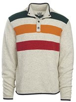 Woolrich Men's Half Snap Blanket Sweater