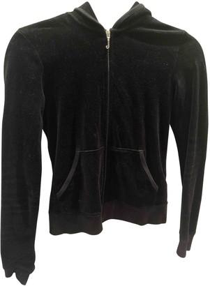 Juicy Couture Black Velvet Top for Women