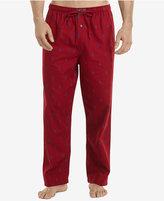 Polo Ralph Lauren Men's Flannel Pony-Print Pajama Pants