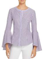 Milly Michelle Bell-Sleeve Shirt
