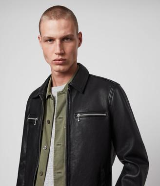 AllSaints Maya Leather Jacket