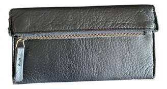 Non Signã© / Unsigned Black Leather Wallets