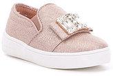 MICHAEL Michael Kors Girl's Ivy Cara Slip-On Stone Embellished Sneaker