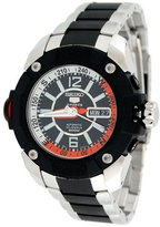Seiko 5 Sports Men's Map Meter 23 Jewels 200M Automatic Diver Watch #SKZ265K1
