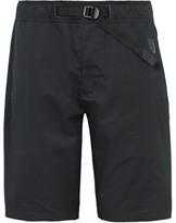 Nike Essentials Stretch-cotton Poplin Shorts - Black