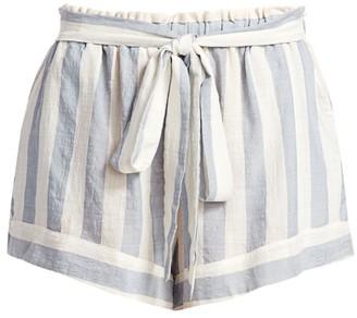 Eberjey Swim Edu Umbrella-Stripe Shorts