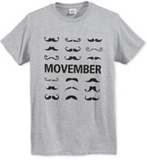 Call Your Mother Men's Movember 'Stache T-Shirt