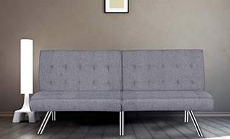 Container Furniture Direct Jayden Modern Convertible Sleeper Sofa Futon Bed