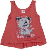 Erge Puppy Screen Tank (Toddler/Kid) - Coral-4