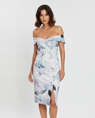 Montique Maria Printed Scuba Dress