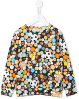 Paul Smith ball print sweatshirt - kids - Cotton - 2 yrs