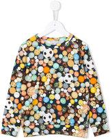 Paul Smith ball print sweatshirt - kids - Cotton - 8 yrs
