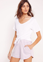 Missguided Basic Runner Shorts Lilac