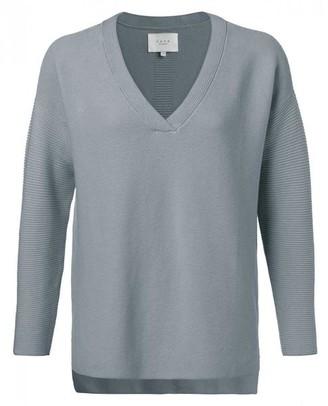 Ya-Ya Ribbed Sweater - XL / Sea Blue