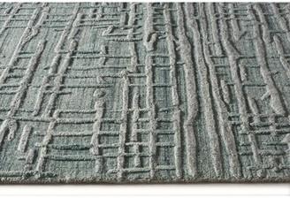 "Wrought Studioâ""¢ Chani Hand Loomed Azure Rug Wrought Studioa Rug Size: Rectangle 8' x 10'"