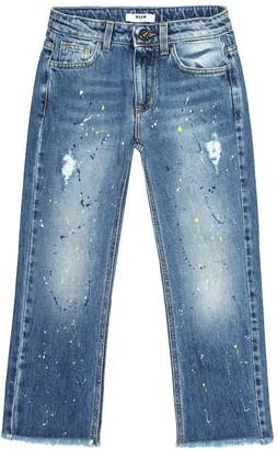 Msgm Kids Straight jeans