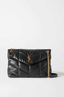 Saint Laurent Loulou Puffer Medium Quilted Leather Shoulder Bag