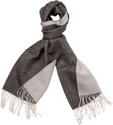 One Kings Lane Alpaca Reversible Scarf, Heather