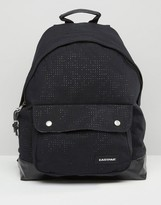 Eastpak Padded Pak'R Perforated Backpack In Black