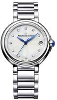 Maurice Lacroix Women's 'Fiaba' Swiss Quartz Stainless Steel Casual Watch, Color:Silver-Toned (Model: FA1004-SS002-170-1)