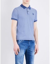 C.P. Company Slim-fit stretch-cotton polo shirt
