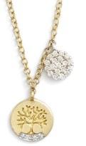 Meira T MeiraT 'Tree of Life' Diamond Pendant Necklace