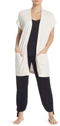 Barefoot Dreams Cap Sleeve Knit Cardigan