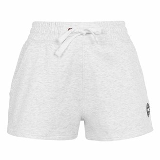 Soul Cal SoulCal Womens Signature Shorts Elasticated Waistband (Ice Marl 10)