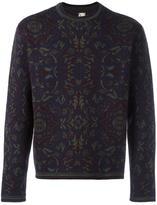 Antonio Marras floral crew neck sweater