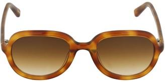 Chimi Amber Acetate Aviator Sunglasses