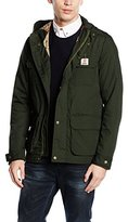 Franklin & Marshall Men's Military Long Parka Long Sleeve Jacket