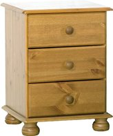 Richmond Steens Pine Bedside Table