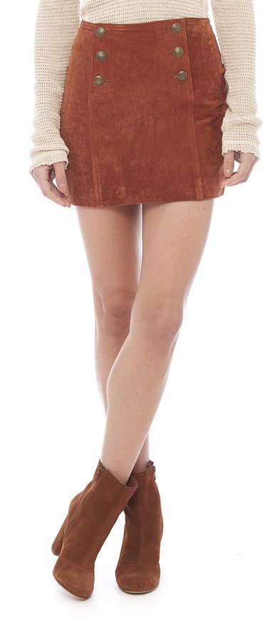 Capulet Suede Mini Skirt
