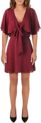BCBGeneration Women's Bow Tie Ruffle Dress