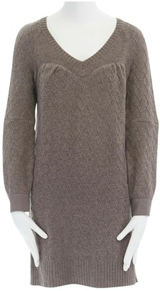 Undercover Brown Wool Dress for Women