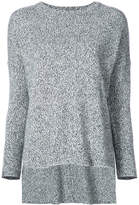 ADAM by Adam Lippes speckled round neck sweater