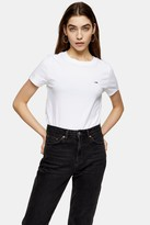 Tommy Hilfiger Womens White Classic T-Shirt By Tommy Jeans - White