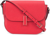 Valextra fold-over closure crossbody bag