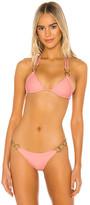 Beach Bunny Nadia Love Tri Bikini Top