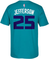 adidas Men's Short-Sleeve Al Jefferson Charlotte Hornets Player T-Shirt