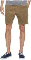 VISSLA Sofa Surfer Take It Easy Corduroy Casual Shorts 18.5 Men's Shorts