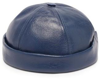 Junya Watanabe X Beton Cire Leather Hat - Navy