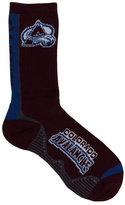 For Bare Feet Colorado Avalanche Team Vortex Crew Socks